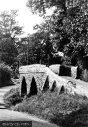 Sutton, Old Packhorse Bridge c.1955