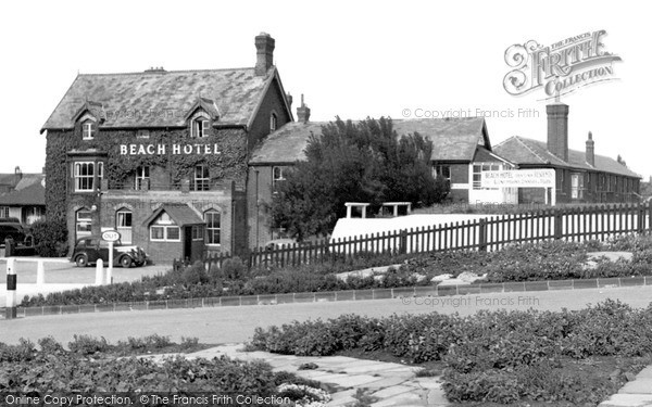 Sutton-On-Sea, Beach Hotel c1950