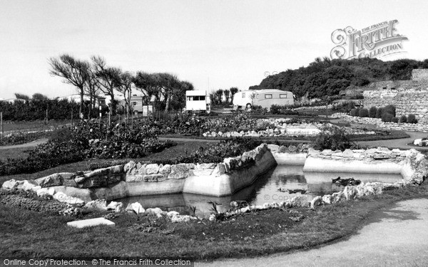Sutton-On-Sea, Bohemia Caravan Centre and Gardens c1955