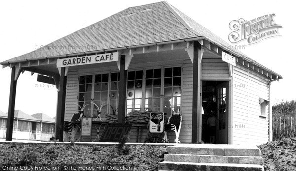 Sutton-On-Sea, Garden Cafe c1955