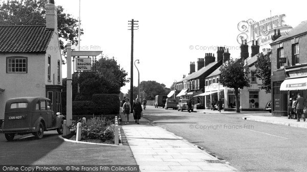 Sutton-On-Sea, High Street c1955