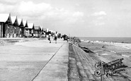 Sutton-On-Sea, the Beach c1950