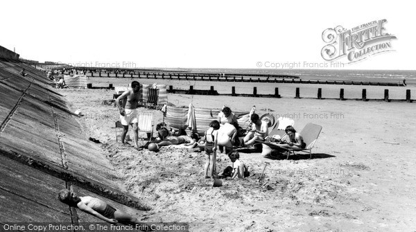 Sutton-On-Sea, the Beach c1965