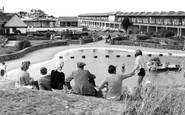 Sutton-On-Sea, the Paddling Pool c1950