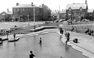 Sutton-On-Sea, the Paddling Pool c1955