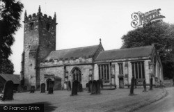 All Hallows Church c.1960, Sutton-on-The-Forest