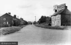The Cross Roads And Post Office c.1960, Sutton-on-The-Forest