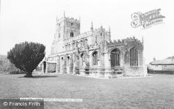 Sutton-on-Trent, All Saints' Church c.1960, Sutton On Trent