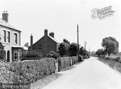 Sutton-on-Trent, Palmer Road c.1955, Sutton On Trent