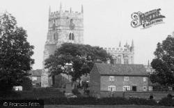 Sutton-on-Trent, The Church 1913, Sutton On Trent