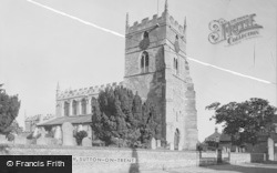 Sutton-on-Trent, The Church c.1955, Sutton On Trent