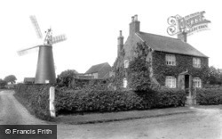 Sutton-on-Trent, The Mill And Mill House 1909, Sutton On Trent