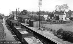 Sutton-on-Trent, The Railway c.1955, Sutton On Trent