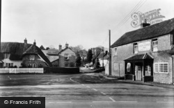 Sutton Scotney, The Square c.1955