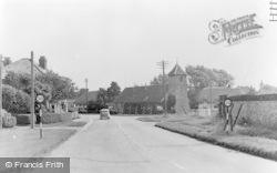 Sutton Scotney, Victoria Hall c.1955