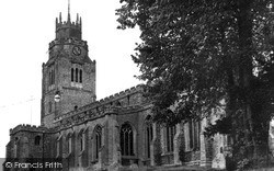 Sutton, St Andrew's Church c.1955