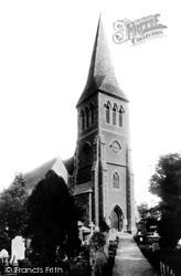 Sutton, St Nicholas Church 1894