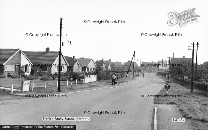 Photo of Sutton, Station Road c.1965