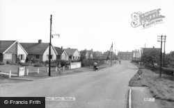 Station Road c.1965, Sutton