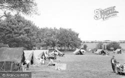 Sutton, Sutton Vale Caravan And Camping Park c.1950