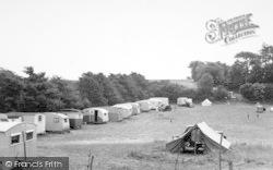 Sutton Vale Caravan And Camping Park c.1950, Sutton