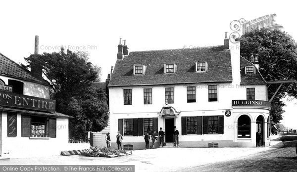 Photo of Sutton, the Cock Hotel 1890, ref. 27423A