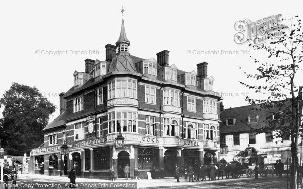 Photo of Sutton, the Cock Hotel 1898, ref. 41708
