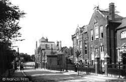 Sutton, The County School And Fire Station 1903