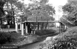 Sutton, The Footbridge, Angel Hill c.1955