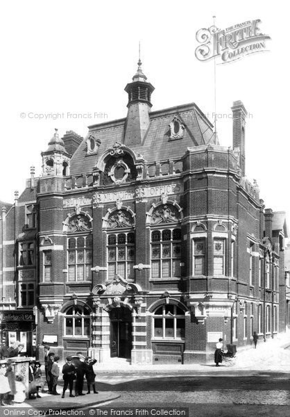 Photo of Sutton, The Municipal Offices 1902