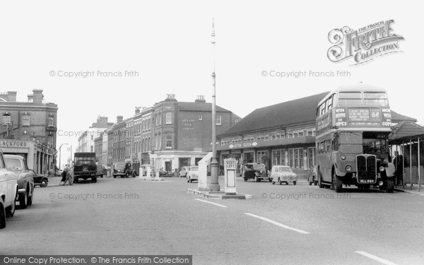 Photo of Sutton, the Station c1960