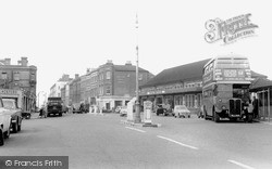 Sutton, The Station c.1960