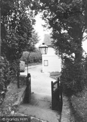 Sutton, The Village From The Church c.1950