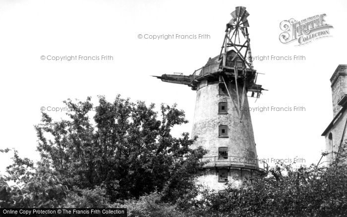 Sutton,the Sutton Windmill c1955,Norfolk