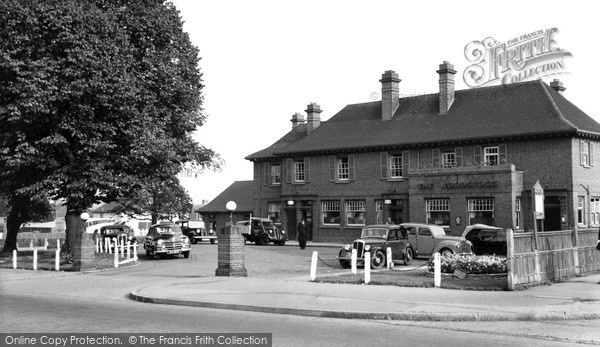 Photo of Sutton, The Woodstock, Stonecot Hill c.1955