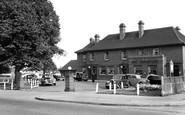 Sutton, the Woodstock, Stonecot Hill c1955