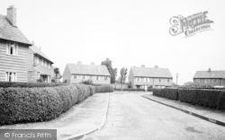 Carlton Road c.1960, Sutton Upon Derwent
