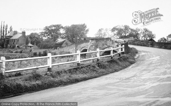 Photo of Sutton Upon Derwent, The Bridge And Derwent House c.1960
