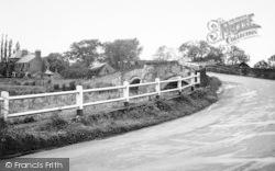 The Bridge And Derwent House c.1960, Sutton Upon Derwent