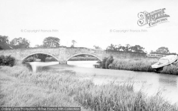 Photo of Sutton Upon Derwent, The Bridge c.1960