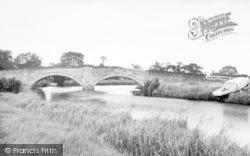The Bridge c.1960, Sutton Upon Derwent