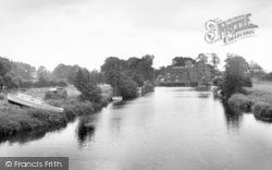 The River c.1960, Sutton Upon Derwent
