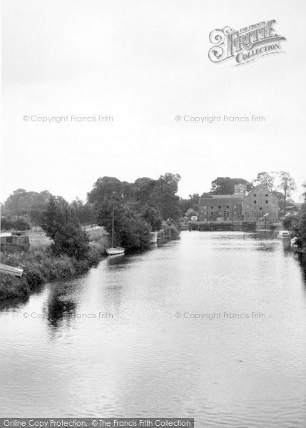 Photo of Sutton Upon Derwent, The River c.1960
