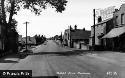 Sutton, West End c.1955