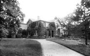 Sutton, Woodside House School 1898