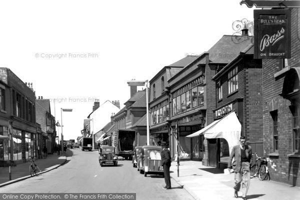 Swadlincote, High Street 1951