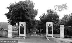 Swadlincote, Park Gates c.1955