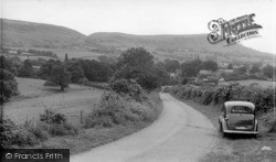 Swainby, From Castle Hill c.1955