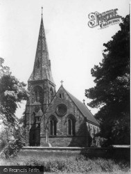 Swainby, Holy Cross Church c.1955