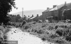 Swainby, River And High Street c.1955